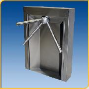MR100 Stainless Steel - Waist High Turnstiles