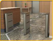 Slim Optical Turnstile - EZ Lane Slim